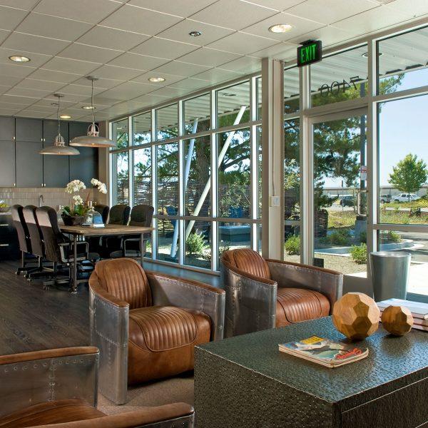 Vine Jet Hangar Lobby Kitchen